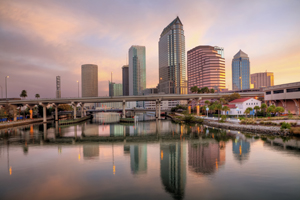 Sunrise Downtown Tampa, Florida