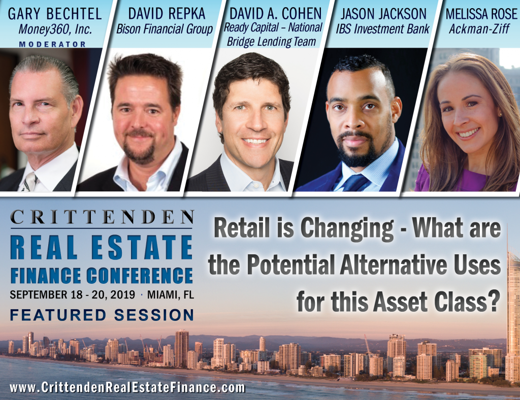 Crittenden Real Estate Finance Conference is Next Week